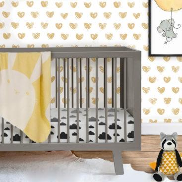 Modbaby cot Grey 3