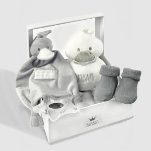 Bambam gift box grey