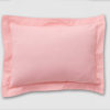 Blush Oxford pillowcase