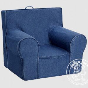Carry go chair plain denim