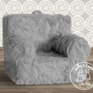 Carry go chair plain wgrey fur
