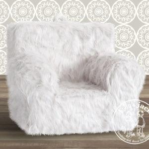 Carry go chair plain winter white fur