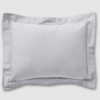 Grey Oxford pillowcase