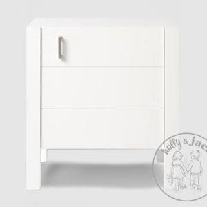 Jack nightstand white