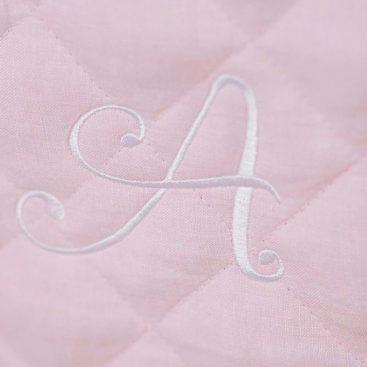 Linen cot quilt 5