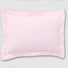 Pink Oxford pillowcase