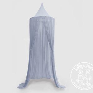 Sheer canopy net blue