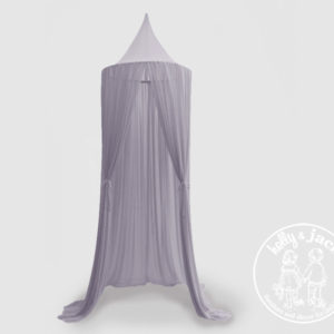 Sheer canopy net grey