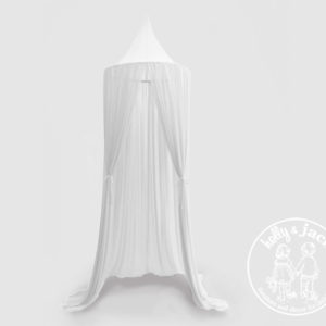 Sheer canopy net white