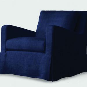 James chair Midnight blue