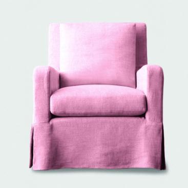 Slope chair blush