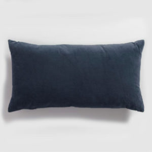 Velvet lumbar cmidnight blue