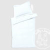 Baby basics cot duvet set white