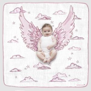 ANGEL WINGS PHOTO OP BLANKET pink 2