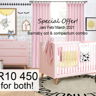 Barnaby cot and comactum special Jan Feb March 2021