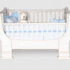 French sleigh cot white