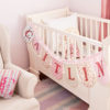 French sleigh cot white 2