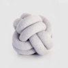 Knot cushion grey