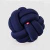 Knot cushion navy
