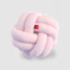 Knot cushion pink