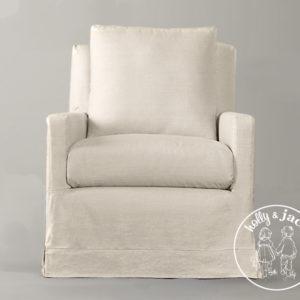 Petite chair linen 2