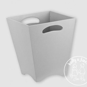 H&J accessories collection dustbin grey