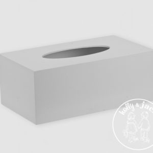 H&J accessories collection tissue box cover grey