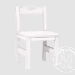 Holly & Jack play chair white