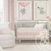 Linen band pillow blush 7