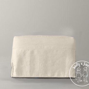 Petite ottoman linen