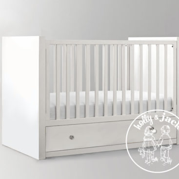 WILLOW COT WHITE with knobs 6