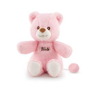 Bear music box pink