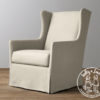 Holly & Jack Contemporary wingback glider 1