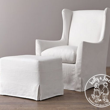 Holly & Jack Contemporary wingback glider 10