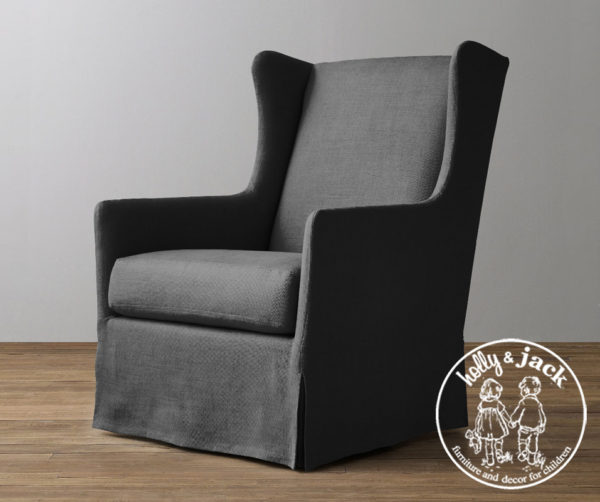 Holly & Jack Contemporary wingback glider 2