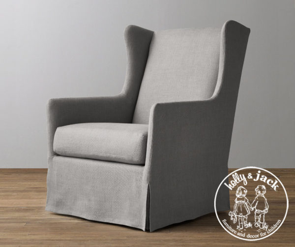 Holly & Jack Contemporary wingback glider 3