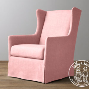Holly & Jack Contemporary wingback glider 4
