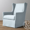 Holly & Jack Contemporary wingback glider 6