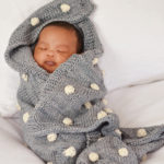 H & J BOBBLE BLANKET GREY 2