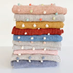 H & J BOBBLE BLANKET MIXED