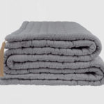 H & J CRAFT QUILT GREY 2