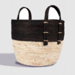 H & J Java basket Black & Natural 2
