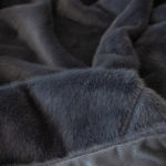 H & J Panther rug Black